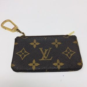 Preowned Authentic Louis Vuitton Mini Wallet